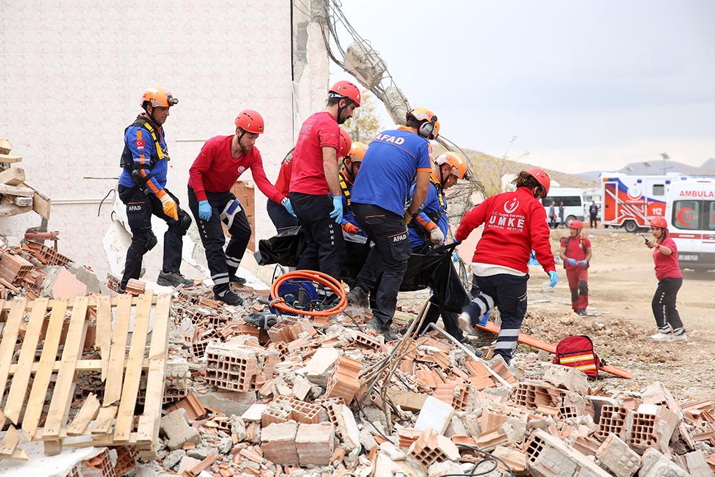 TAMP Kapsamında deprem tatbikatı gerçekleştirildi